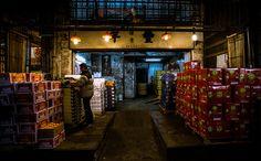 Midnight Wholesale Fruit Market, HK