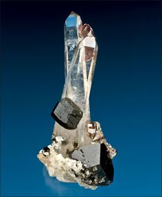 Uvite on Quartz with Dolomite