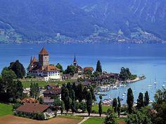Lake Thun, Spiez, Switzerland