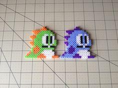 Bubble Bobble Bead Sprite Set  Bub & Bob by ToughTurtles on Etsy, $5.50