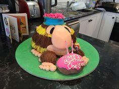 Grug birthday cake!