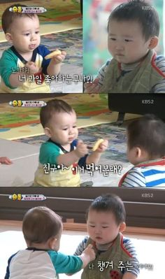 "William Adorably Battles It Out With A New Friend On ""The Return Of Superman"" 