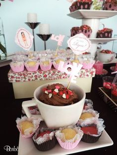 """Photo 15 of 32: Pink and Brown / Bridal/Wedding Shower """"Cha de Lingerie"""" 