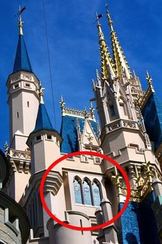 It is located here, inside of Cinderella Castle. | The Most Exclusive Hotel Room In The World: Inside Disney's Castle