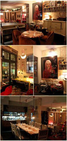 O restaurante Derriere - Paris 69,rue des gravilliers  33 1 44 61 91 95
