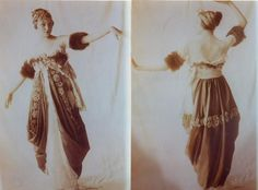 DRESS: Lucy, Lady Duff-Gordon...I wish I could see this one in real life.