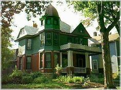 Really had to search in Kansas for something that appeals to me. Then, I found Old West Lawrence! 17 homes are listed in the National Registry of historic homes.