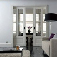 interior paned window walls - Google Search