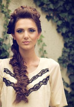 i love the fishtail bride, but not really a fan of the top