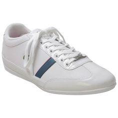 d5b2163727188a Lacoste Men s Misano Sport White Leather Sneaker