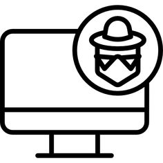 Hacker Vector Icons, Vector Free, Network Icon, Free Icon Packs, Icon Font, Cyber, Design