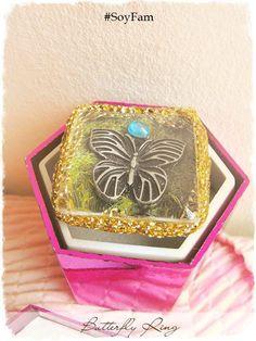 Sale 10% Butterfly Ring Butterfly jewelry Fantasy por FamDdaear