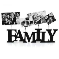 Porta Retrato De Clipes Familia - Imaginarium