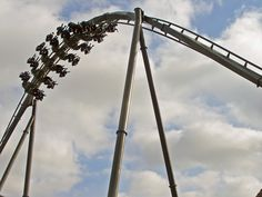 #Swarm #ThorpePark #rollercoaster