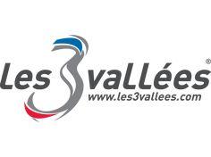 Znalezione obrazy dla zapytania les 3 vallees logo