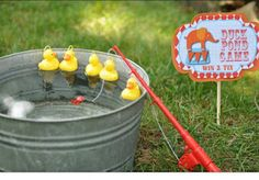 Duck Pond - circus party games