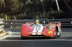 Ronnie Peterson , Lola T212 .1000 Km de Barcelona,Montjuich 1971.