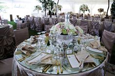 Table setup -  Keith Cephus Photography