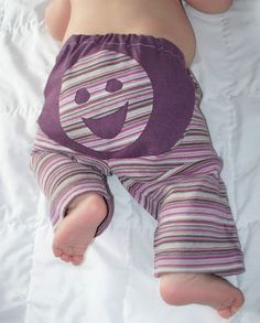 indietutes: happy bum pants from sleeves (how to make cloth-diaper-friendly pants)