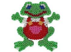 Frosch Frog Hama Bügelperlen