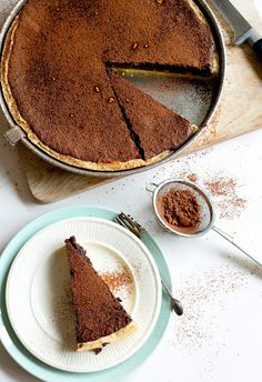 Mexicaanse mole chocoladetaart - DoorEten