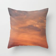 North Carolina Sunset Throw Pillow by Veronica Ventress - $20.00