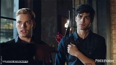 """S1 Ep4 """"Raising Hell"""" - Who would you pick as your """"pretty boy""""? #Shadowhunters"""