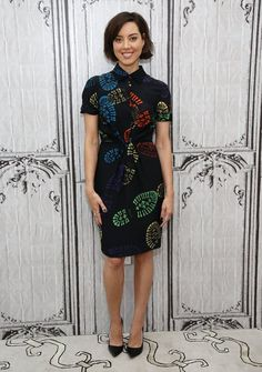 There's Only 1 Way to Describe Aubrey Plaza's Moschino Dress —Fun!