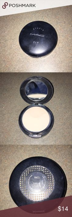 Mac Studio Fix NW15 Mac Studio Fix in shade NW15. Very gently used. About 85% product remaining. MAC Cosmetics Makeup Foundation