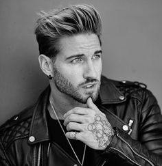 203 mejores imágenes de peinados para hombre en 2019  686b5d471419