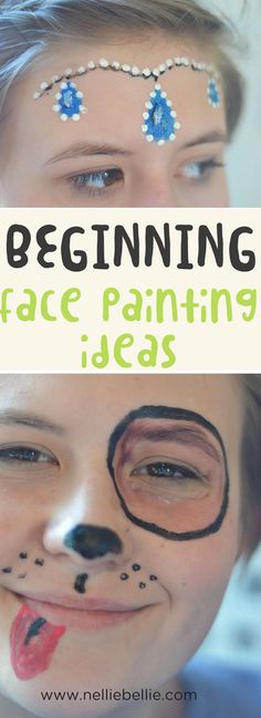 Face painting ideas for beginners. Face painting t…