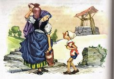 The Adventures of Pinocchio illustrated by Libico Maraja.