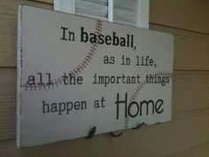 Baseball Sign.... Love!
