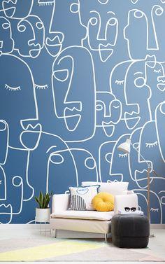 Orange Mica Chip Sparkle moderne véritable naturelle Papier peint lignes noires revêtement mural