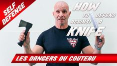 COMMENT FAIRE FACE À UNE ATTAQUE AU COUTEAU ? / How to Defend Against a Knife Attack? - YouTube Krav Maga, Judo, Face, Agression, Youtube, Sports, Survival, Feminine, Self Confidence