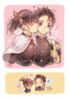 Read Kanao X Tanjirou from the story Kimetsu No Yaiba Manga Anime, Anime Couples Manga, Anime Demon, Cute Anime Couples, Otaku Anime, Demon Slayer, Slayer Anime, Anime Love Couple, I Love Anime