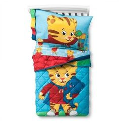 My son would love this Daniel Tiger bedding! How fun for a toddler bedroom! Toddler Fun, Toddler Activities, Daniel Tiger's Neighborhood, Twin Sheet Sets, Linen Bedding, Bed Linen, Comforter, Kid Spaces, Kids Decor