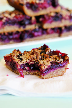 Berry Snack Bars #wishfarms #sweetsummertime