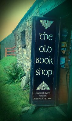 the old book shop on the Hill of Tara, Ireland