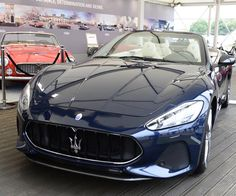 Goodwood Festival of Speed 2017: Maserati GranTurismo and GranTurismo Convertible debut #thatdope #sneakers #luxury #dope #fashion #trending