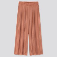 WOMEN CHIFFON PLEATED SKIRT PANTS, BROWN Pleated Pants, Skirt Pants, Harem Pants, Pair Costumes, Paper Bag Design, Chiffon Material, Looks Great, Your Style, Pants For Women