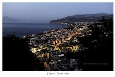 Evening in Sorrento