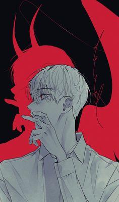 Dark Anime Guys, Cute Anime Guys, Anime Kunst, Anime Art, Character Art, Character Design, Handsome Anime Guys, Boy Art, Pretty Art