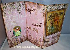 stamping rika: Geburtstagskarte
