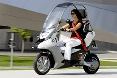 BMW C1  electric motorcycle