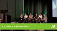 The Future of Storytelling in VR  NVIDIA invites you to explore virtual reality as a storytelling medium across VR filmmaking, location-based entertainment and more.  Join experts from 20th Century Fox, Baobab Studios, Spaces, and Walt Disney Imagineering as they discuss the future of storytelling in VR at SIGGRAPH 2016. The panel is moderated by Digital Cinema Society Founder, James Mathers.