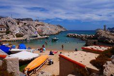 Baie des singes à Marseille, photo prise par Valérie Coutrot.