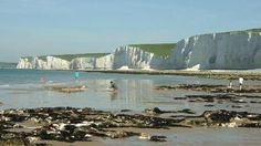 Spend the day exploring part of the world famous Seven Sisters chalk cliffs at the National Trust's Birling Gap in East Sussex. Places In England, National Parks, National Trust, Rock Pools, Seaside Towns, East Sussex, Great Britain, Countryside, The Good Place