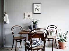A beautiful Swedish space in calm greys
