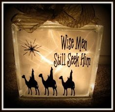 Super Saturday Crafts: Wise Men Still Seek Him Vinyl